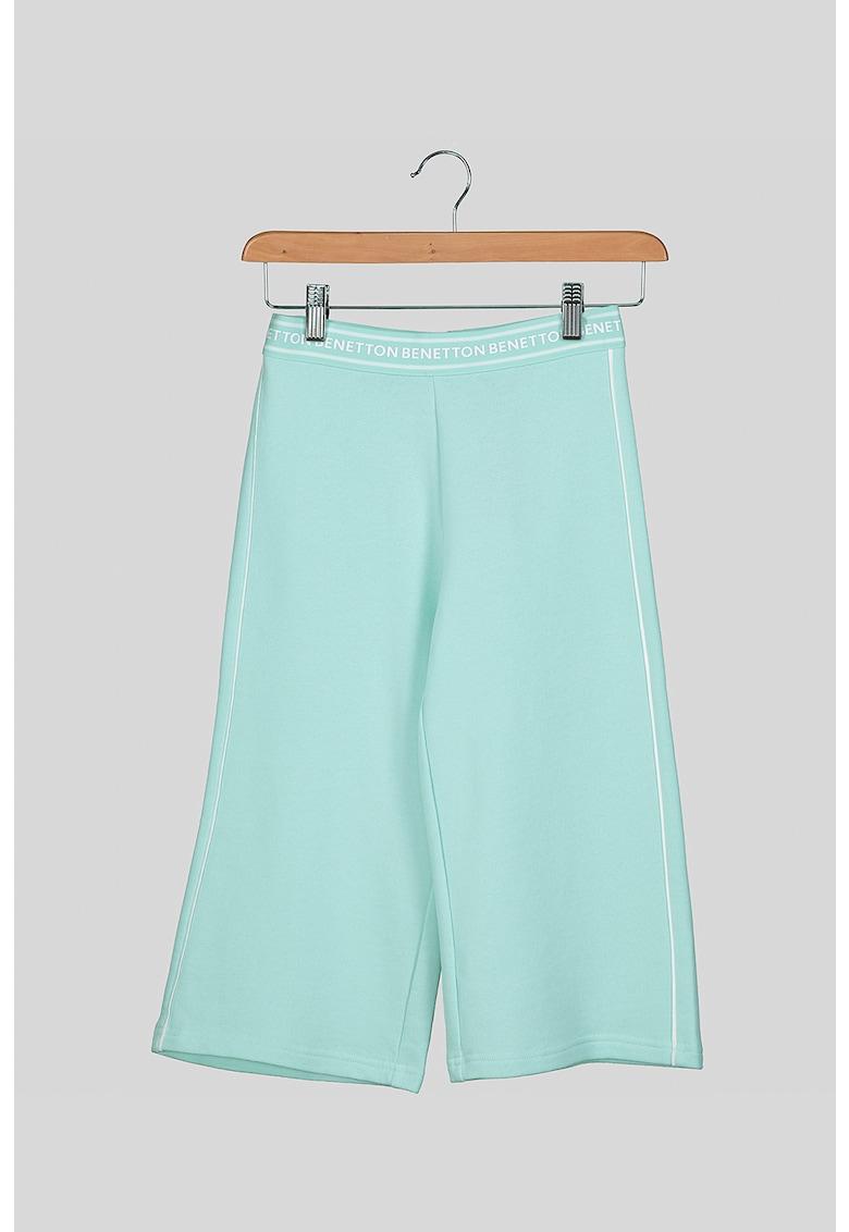 Pantaloni sport cu croiala conica de la United Colors of Benetton
