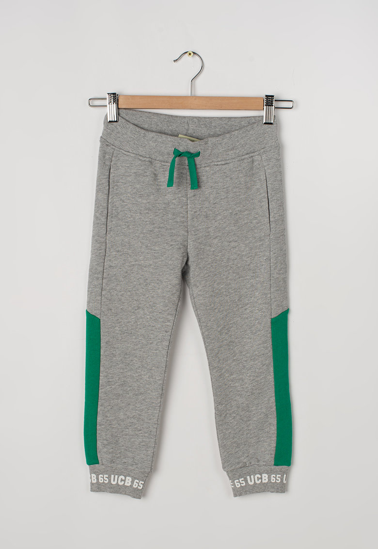 United Colors of Benetton Pantaloni sport cu detalii contrastante