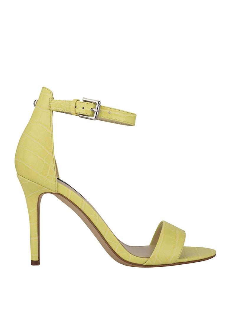 Sandale cu model reptila Mana poza fashiondays