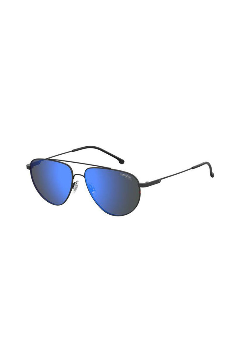 Ochelari de soare aviator unisex cu rama de otel inoxidabil imagine fashiondays.ro Carrera