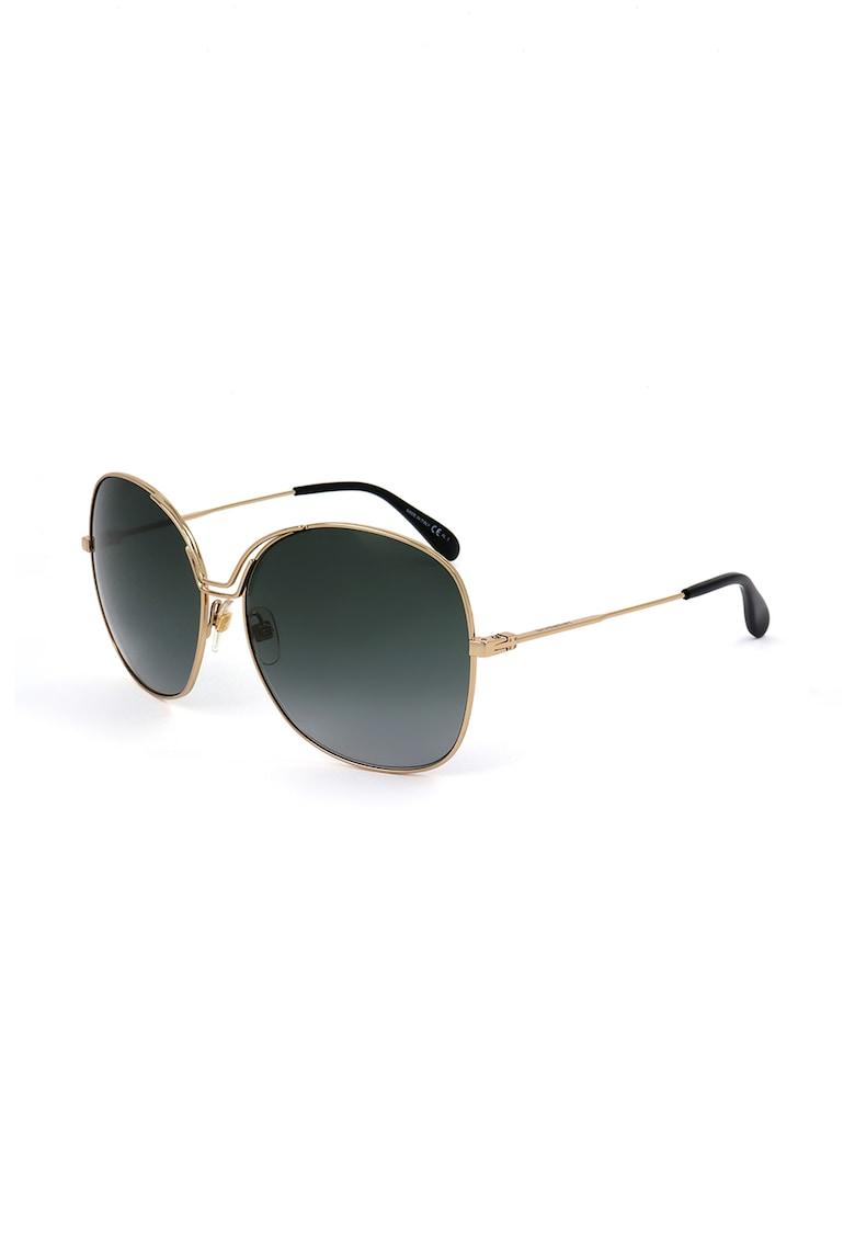 Ochelari de soare supradimensionati cu lentile in degrade imagine fashiondays.ro 2021