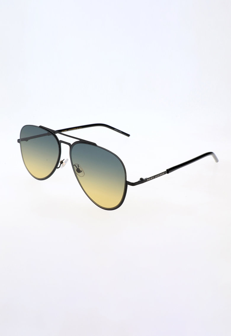 Ochelari de soare aviator unisex cu lentile in degrade imagine fashiondays.ro Marc Jacobs