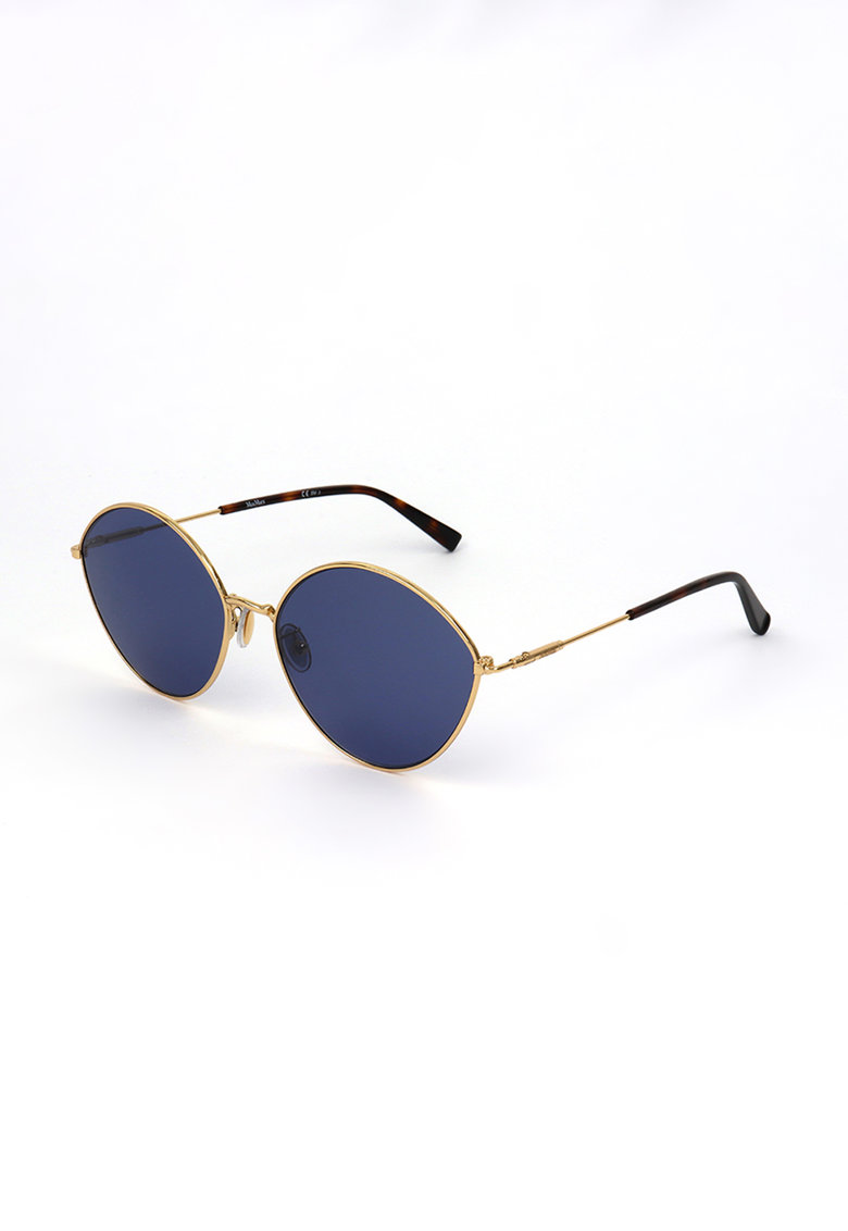 Ochelari de soare rotunzi cu rame metalice imagine fashiondays.ro 2021