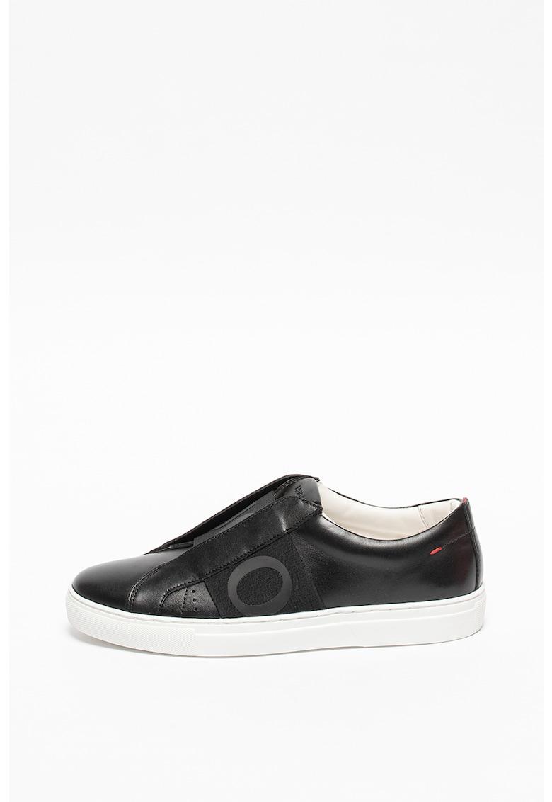 Pantofi sport low-cut de piele Futurism