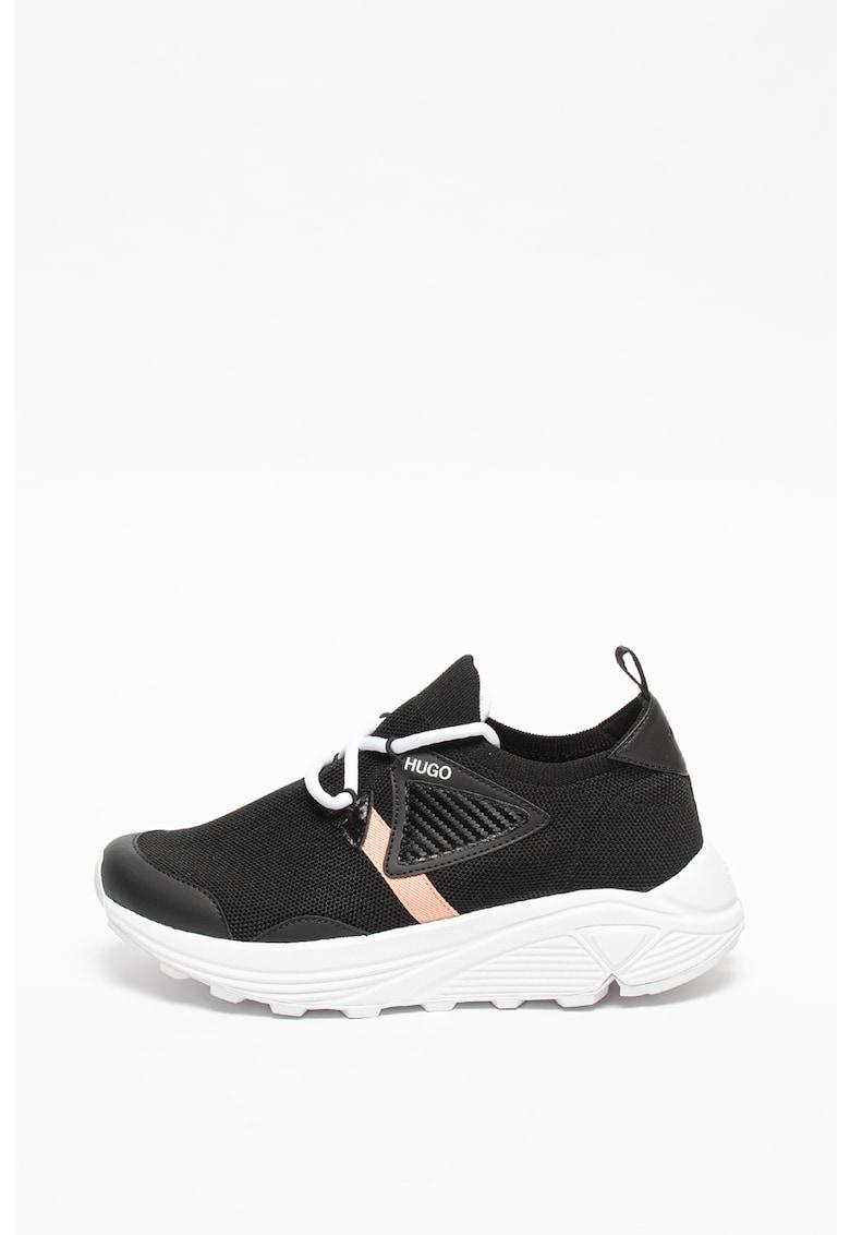 Pantofi sport slip-on de plasa tricotata Horizon