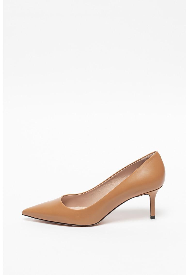 Pantofi stiletto de piele Ines