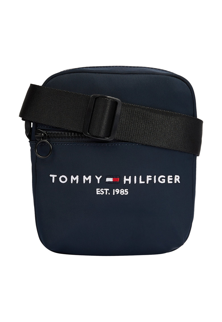 Tommy Jeans - Geanta crossbody cu broderie logo Established