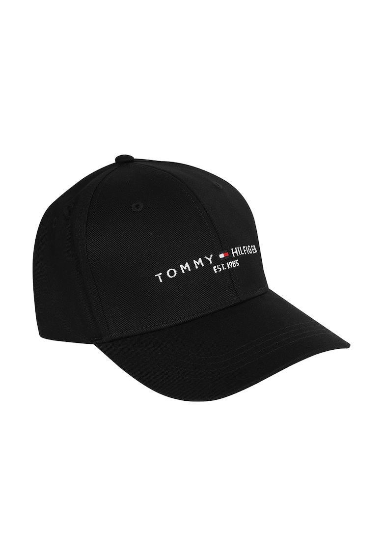 Tommy Jeans - Sapca ajustabila de bumbac organic Established