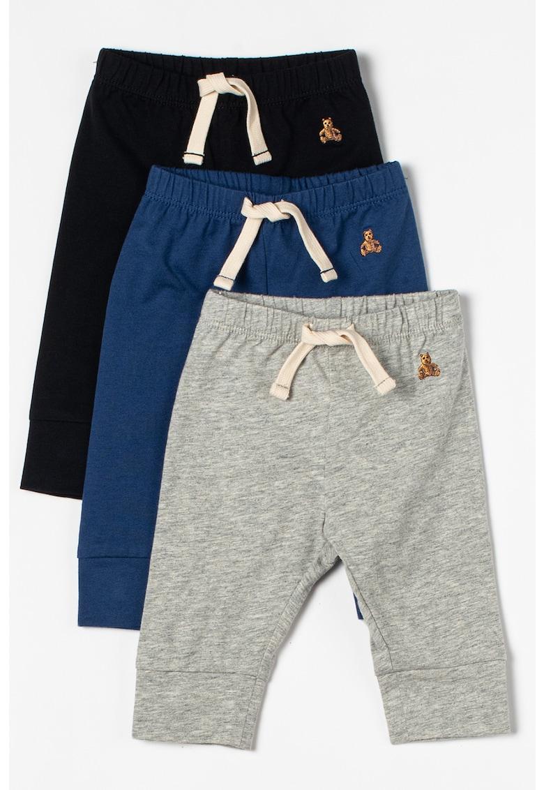 GAP Set de pantaloni cu snur in talie - 3 perechi