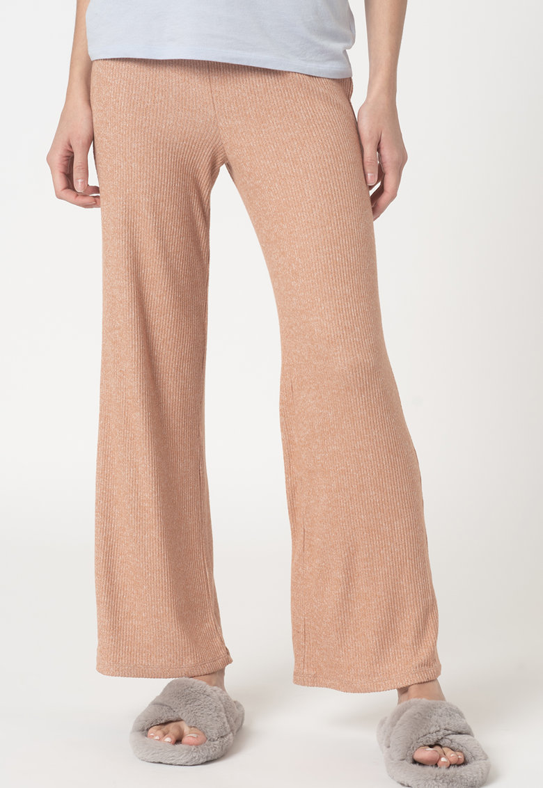 GAP Pantaloni striati cu croiala ampla