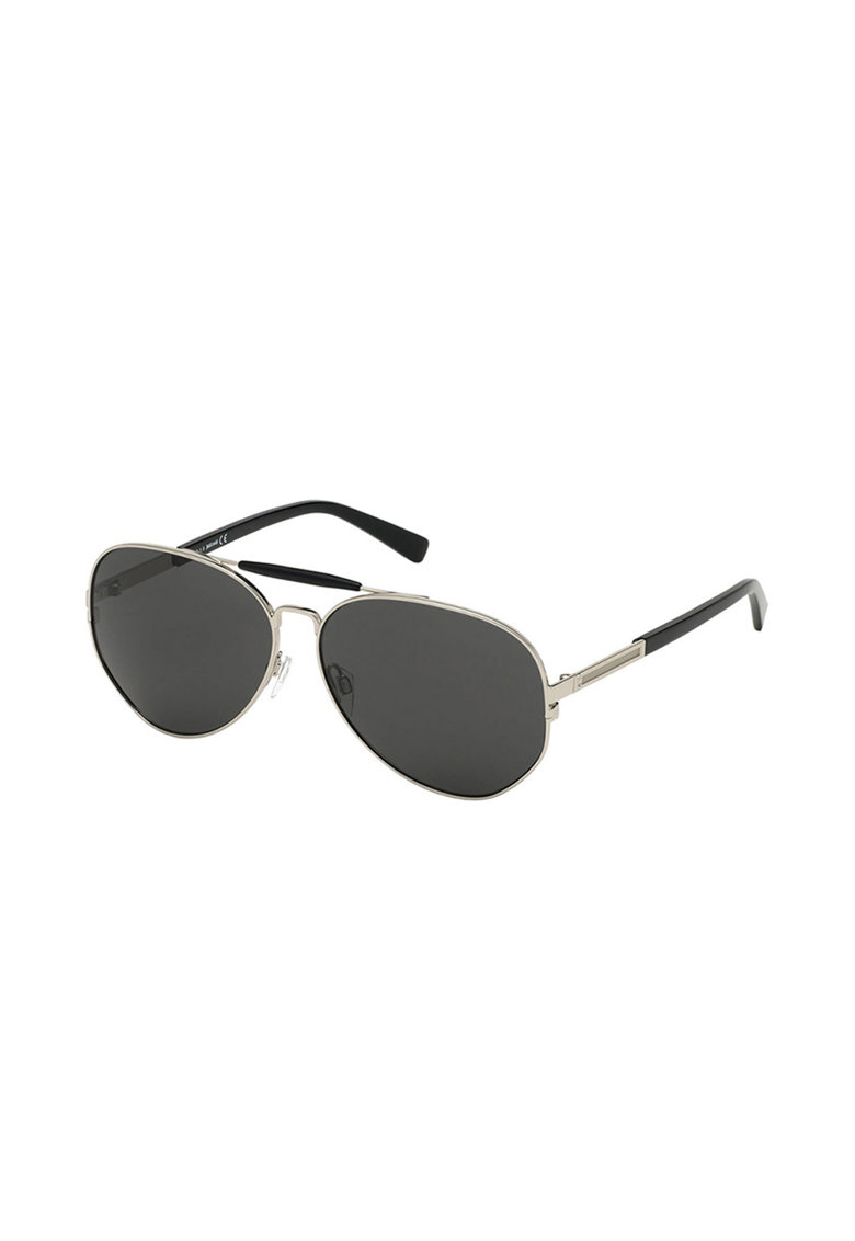 Ochelari de soare aviator cu rama metalica imagine fashiondays.ro JUST CAVALLI