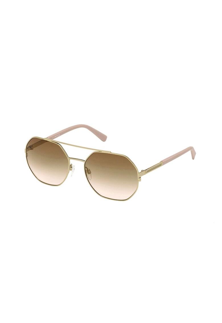 Ochelari de soare rotunzi unisex imagine fashiondays.ro JUST CAVALLI