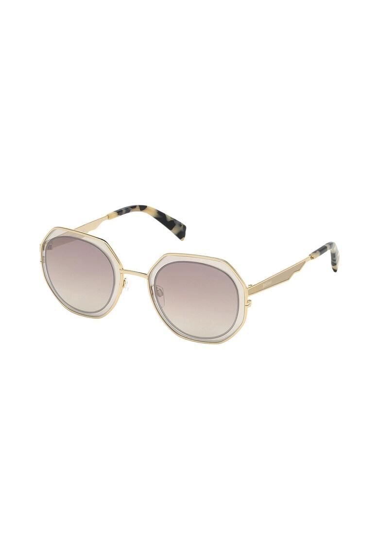 Ochelari de soare rotunzi imagine fashiondays.ro JUST CAVALLI
