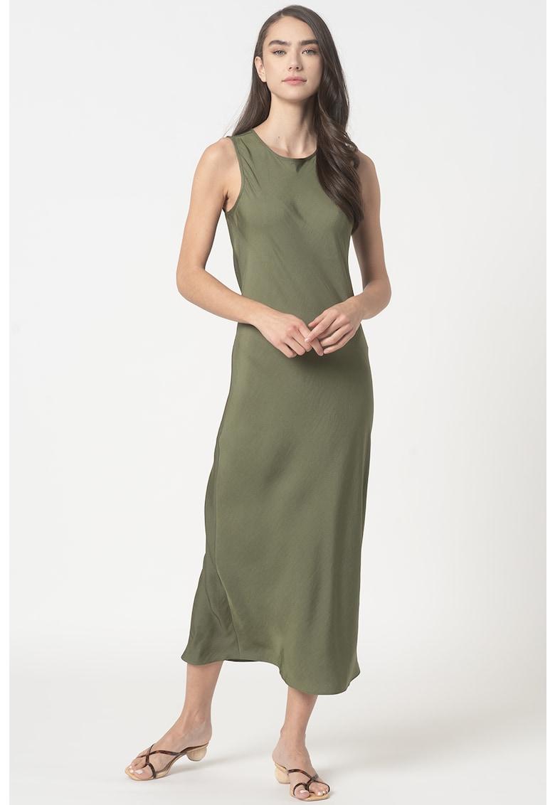 Rochie midi cu decupaj pe spate