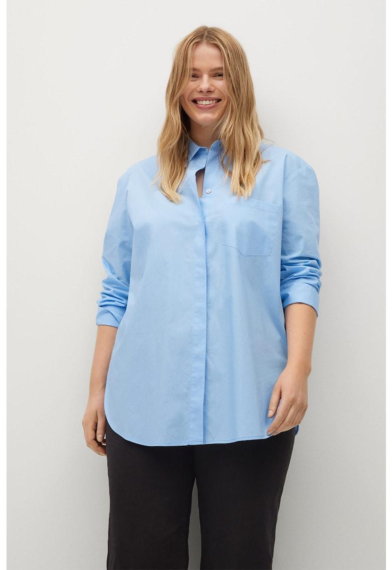 Tricou regular fit din bumbac Blus imagine fashiondays.ro 2021