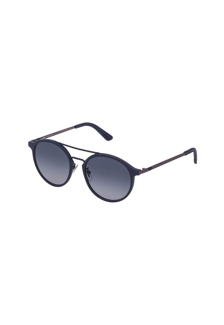Ochelari de soare aviator rotunzi cu lentile in degrade imagine fashiondays.ro Police