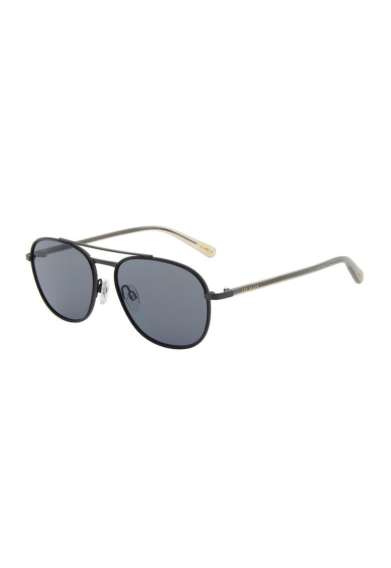 Ochelari de soare aviator cu lentile uni Garth imagine fashiondays.ro Ted Baker