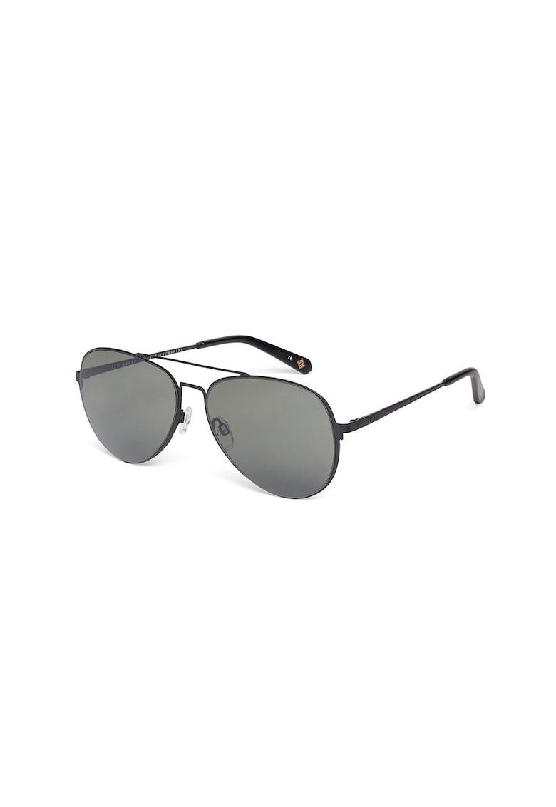 Ochelari de soare aviator imagine fashiondays.ro Ted Baker