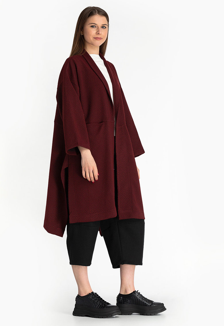 Cardigan lung lejer fara inchidere imagine fashiondays.ro Antonia M