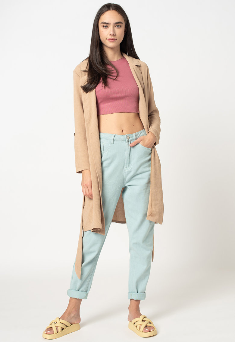 Trenci din material usor imagine fashiondays.ro 2021
