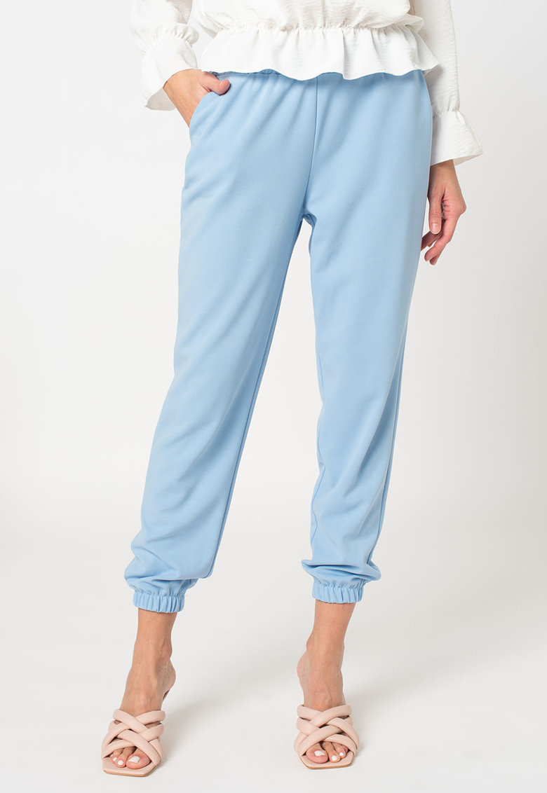 Pantaloni sport cu talie inalta Emma