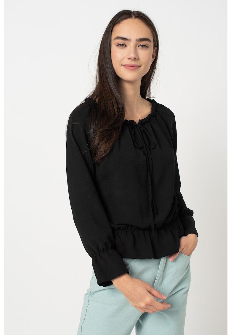 Bluza cu terminatie peplum Ena