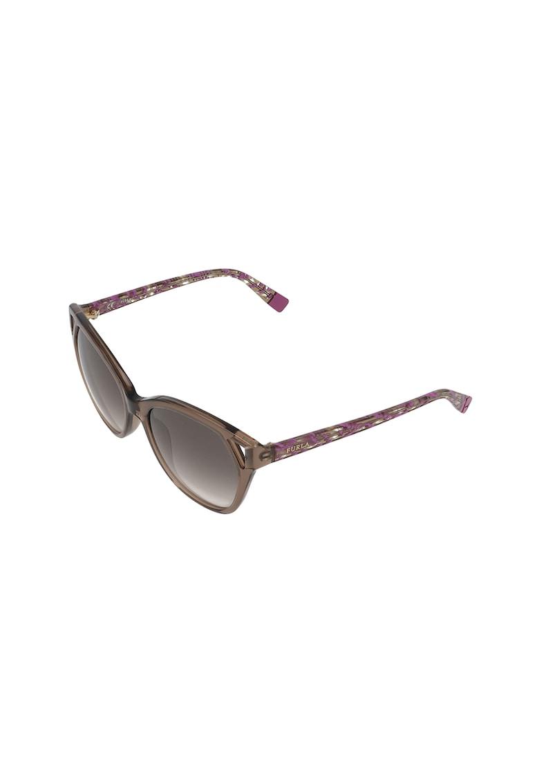Ochelari de soare cat-eye imagine fashiondays.ro Furla
