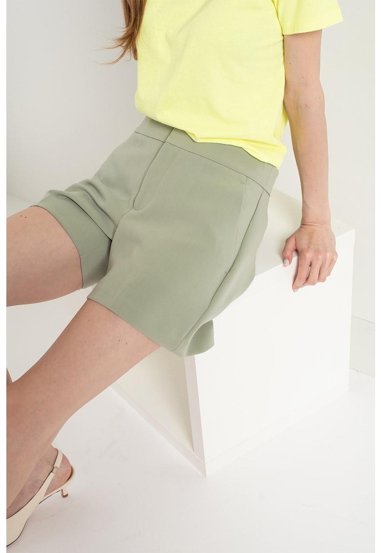 Pantaloni chino scurti eleganti imagine fashiondays.ro Banana Republic
