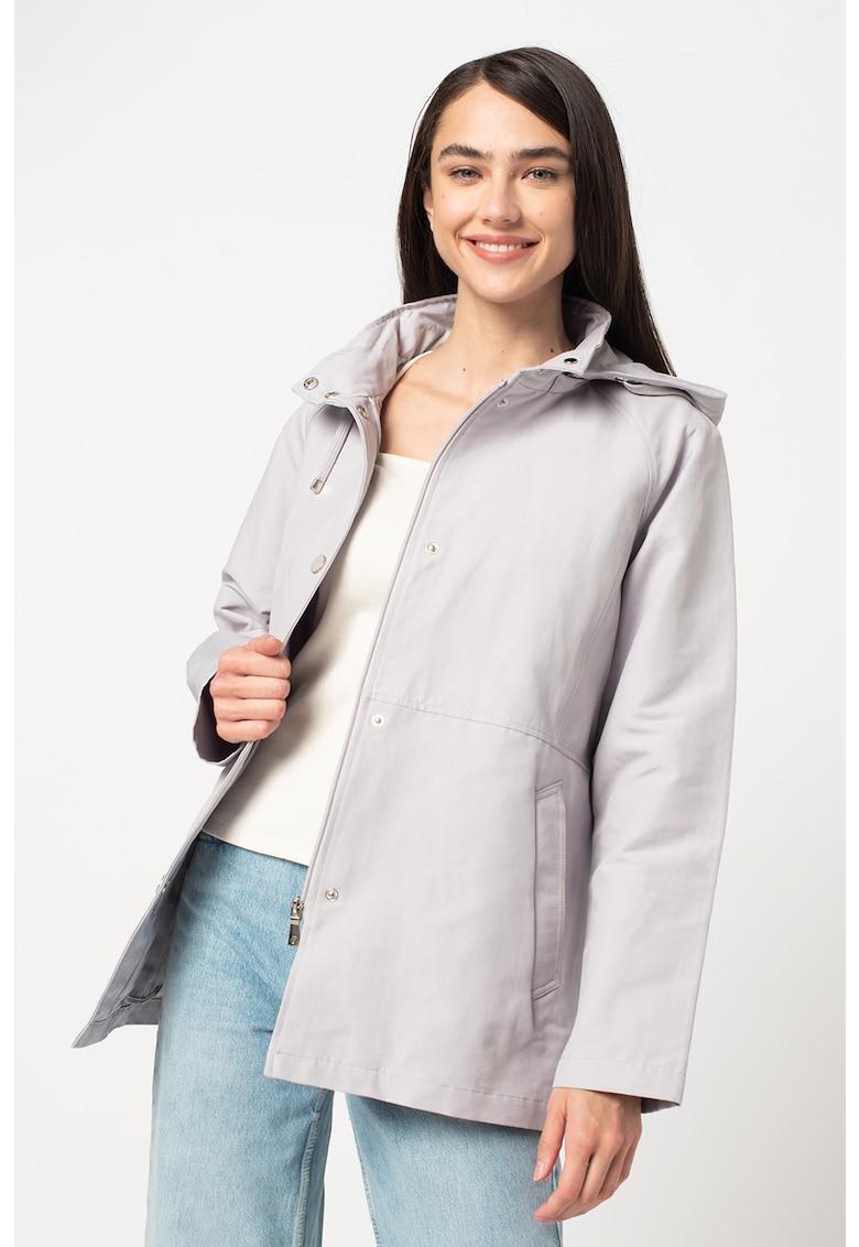 Jacheta cu maneci lungi si gluga imagine fashiondays.ro 2021