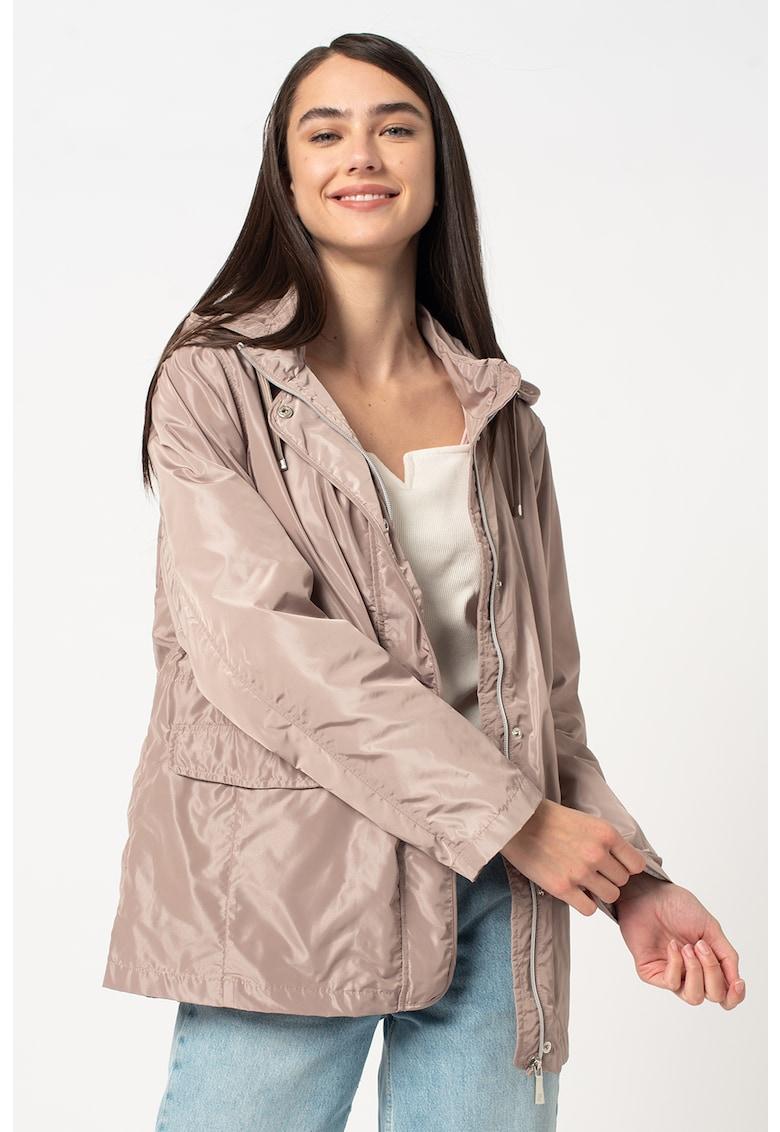 Jacheta usoara cu aspect lucios imagine fashiondays.ro 2021