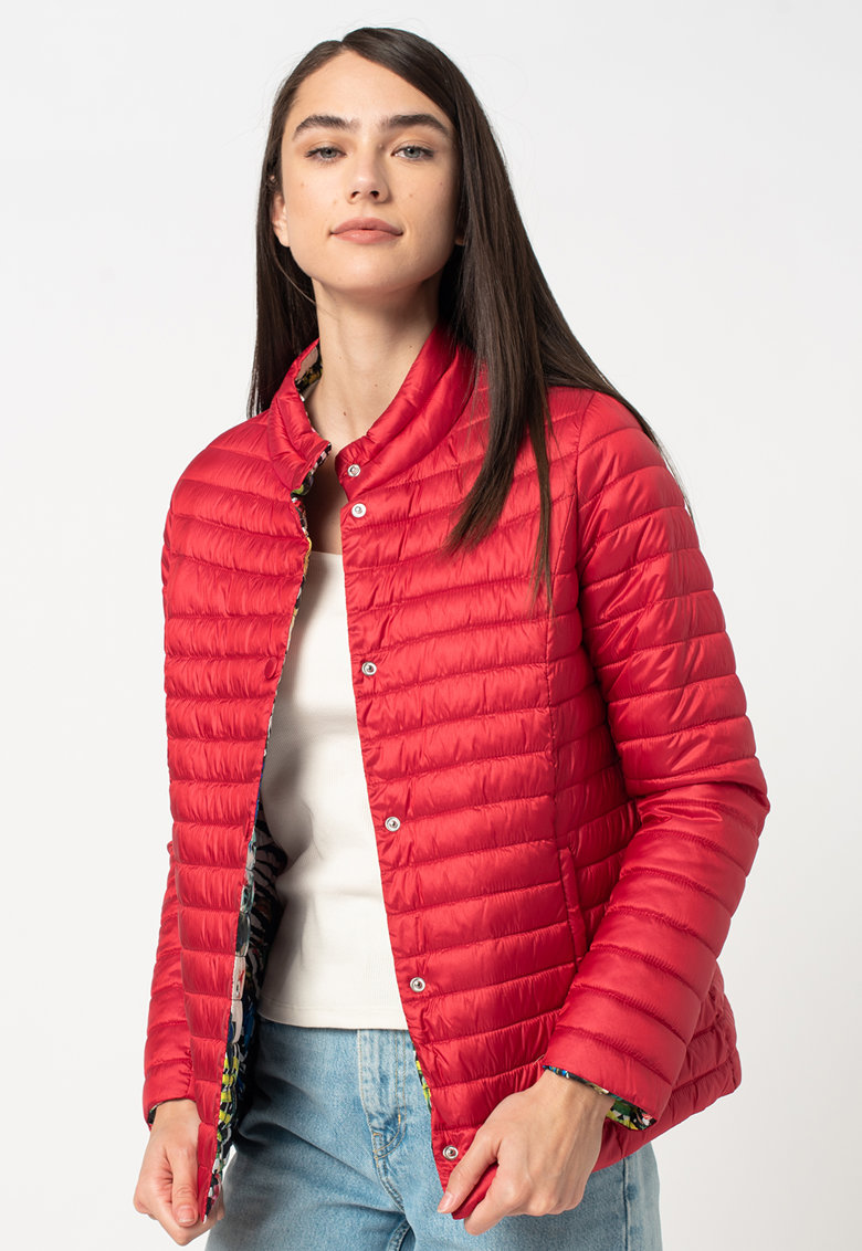 Jacheta reversibila cu vatelina si aspect matlasat imagine fashiondays.ro 2021