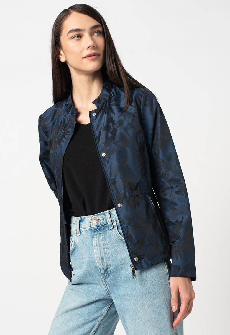 Jacheta cu imprimeu si fermoar imagine fashiondays.ro 2021