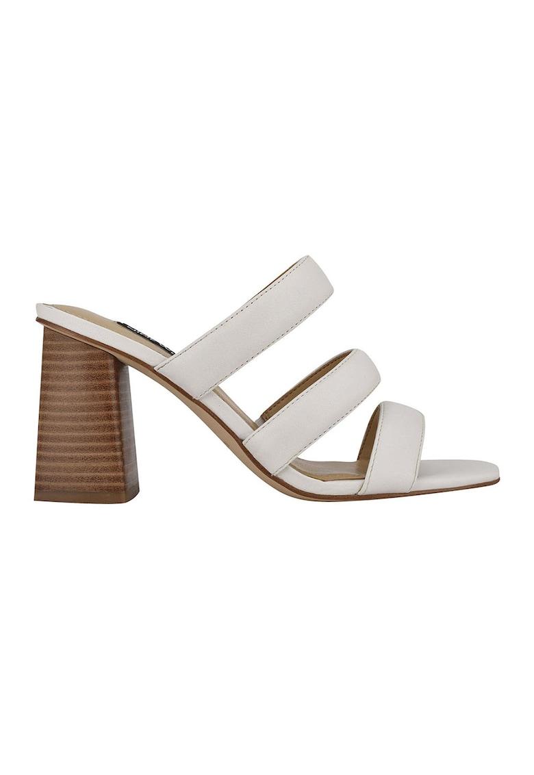 Papuci din piele cu toc Yeat imagine fashiondays.ro 2021