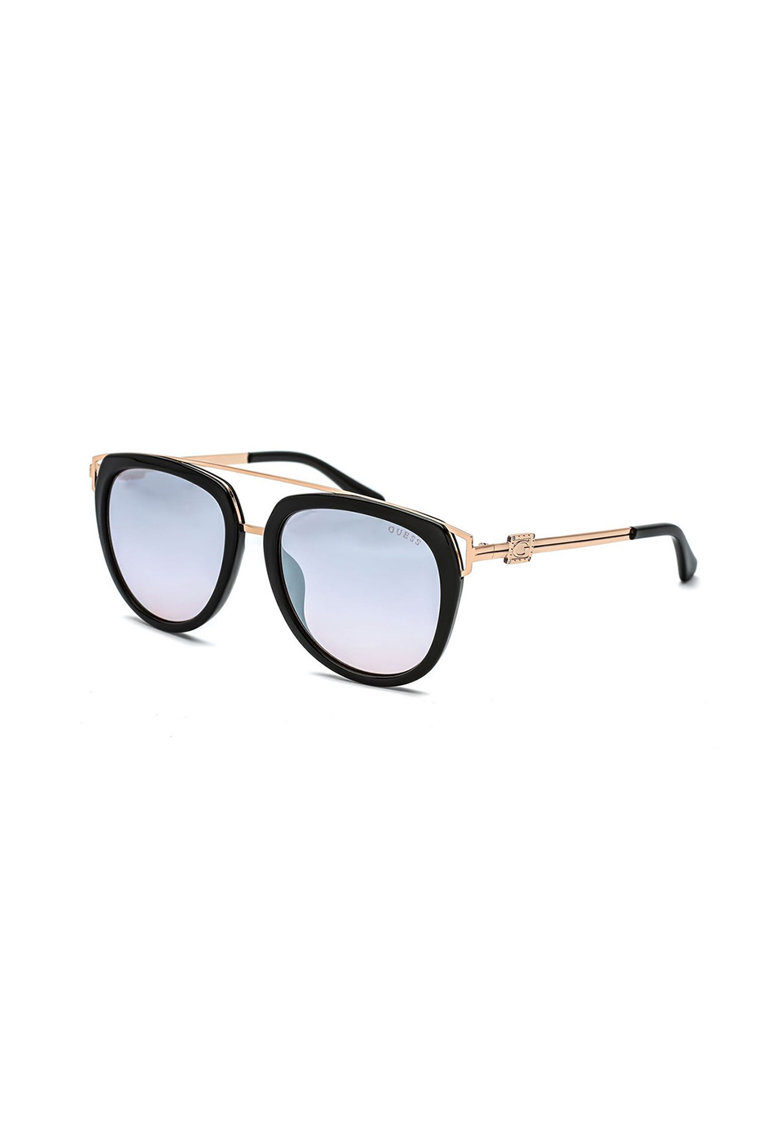Ochelari de soare pilot unisex cu lentile in degrade Guess fashiondays.ro