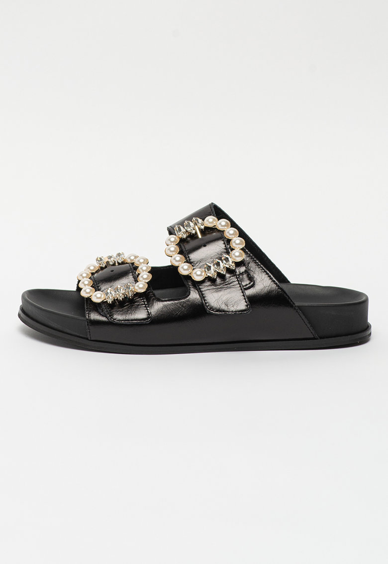 Papuci de piele Ciabatta
