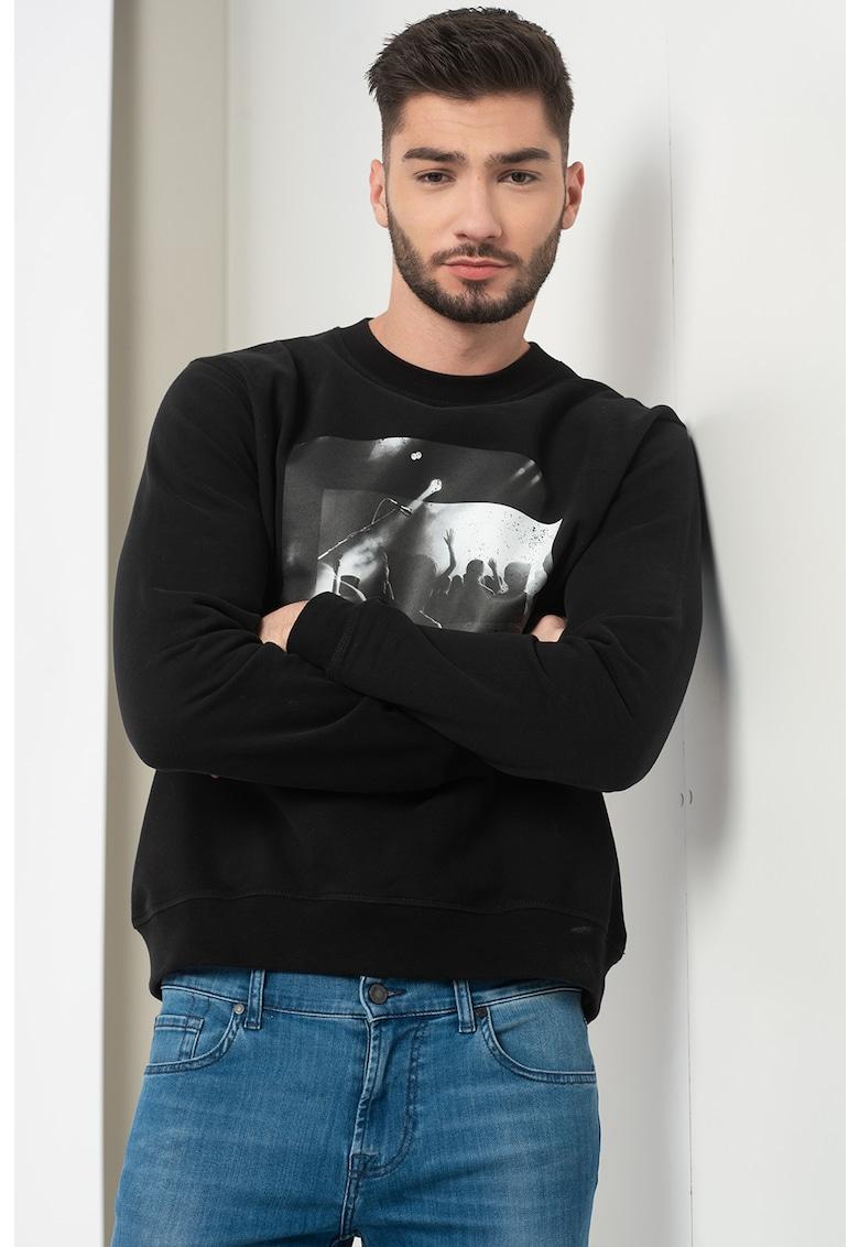 Bluza sport cu imprimeu foto