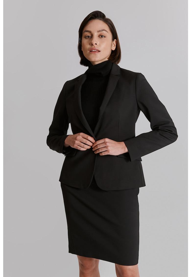 Sacou elegant cu un nasture Rema imagine fashiondays.ro 2021