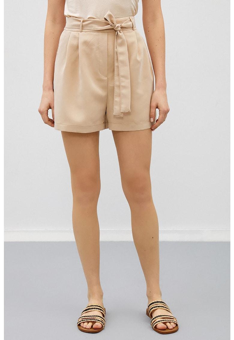Pantaloni scurti din amestec de modal cu snur de la KOTON
