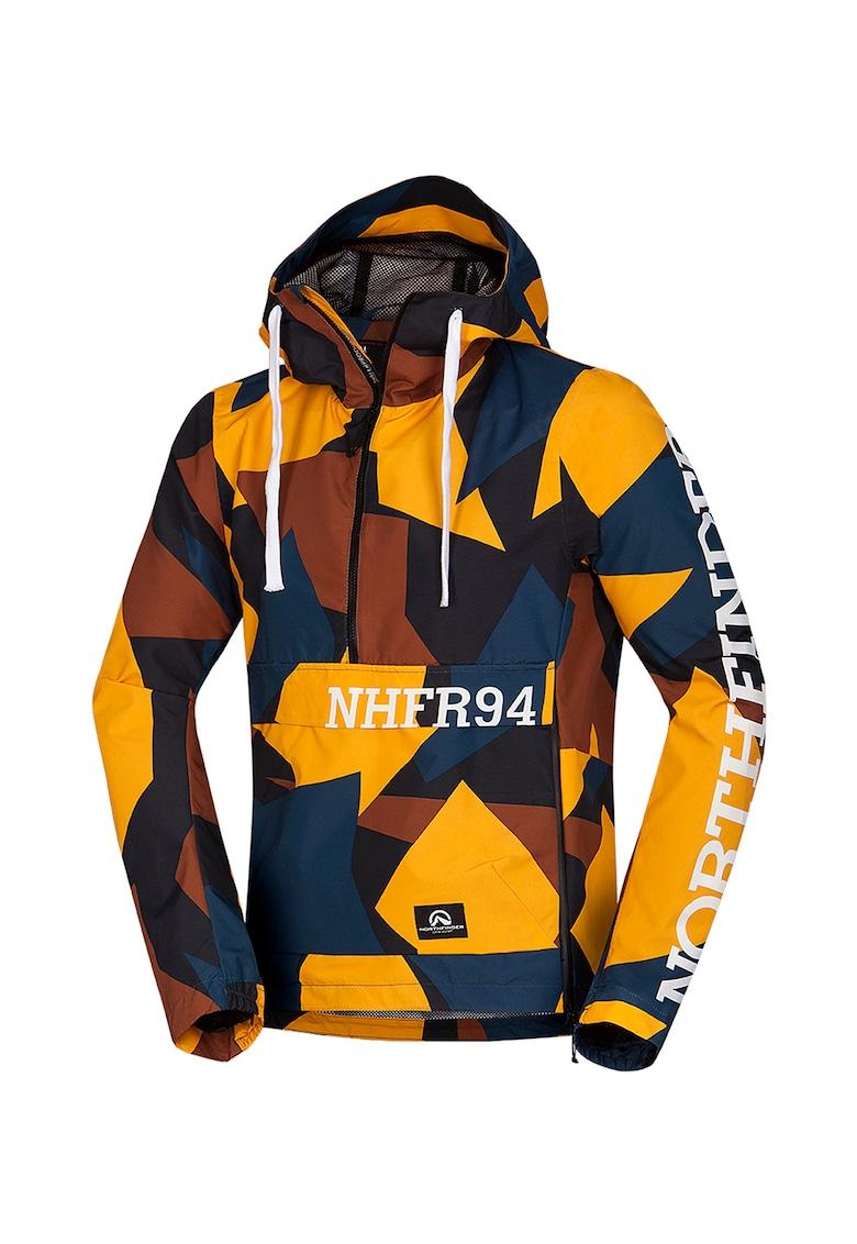 Jacheta fara inchidere cu imprimeu pentru alergare Brondy imagine fashiondays.ro NORTHFINDER