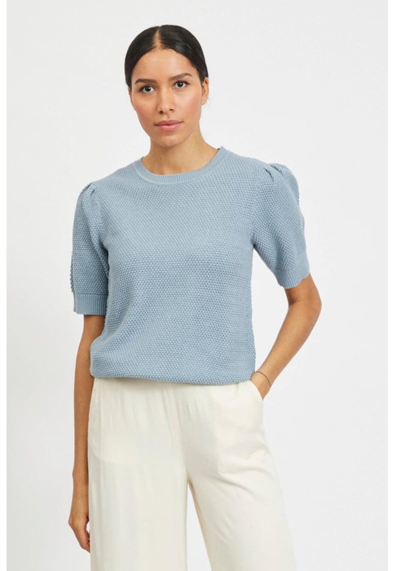 Bluza tricotata cu maneci medii imagine fashiondays.ro