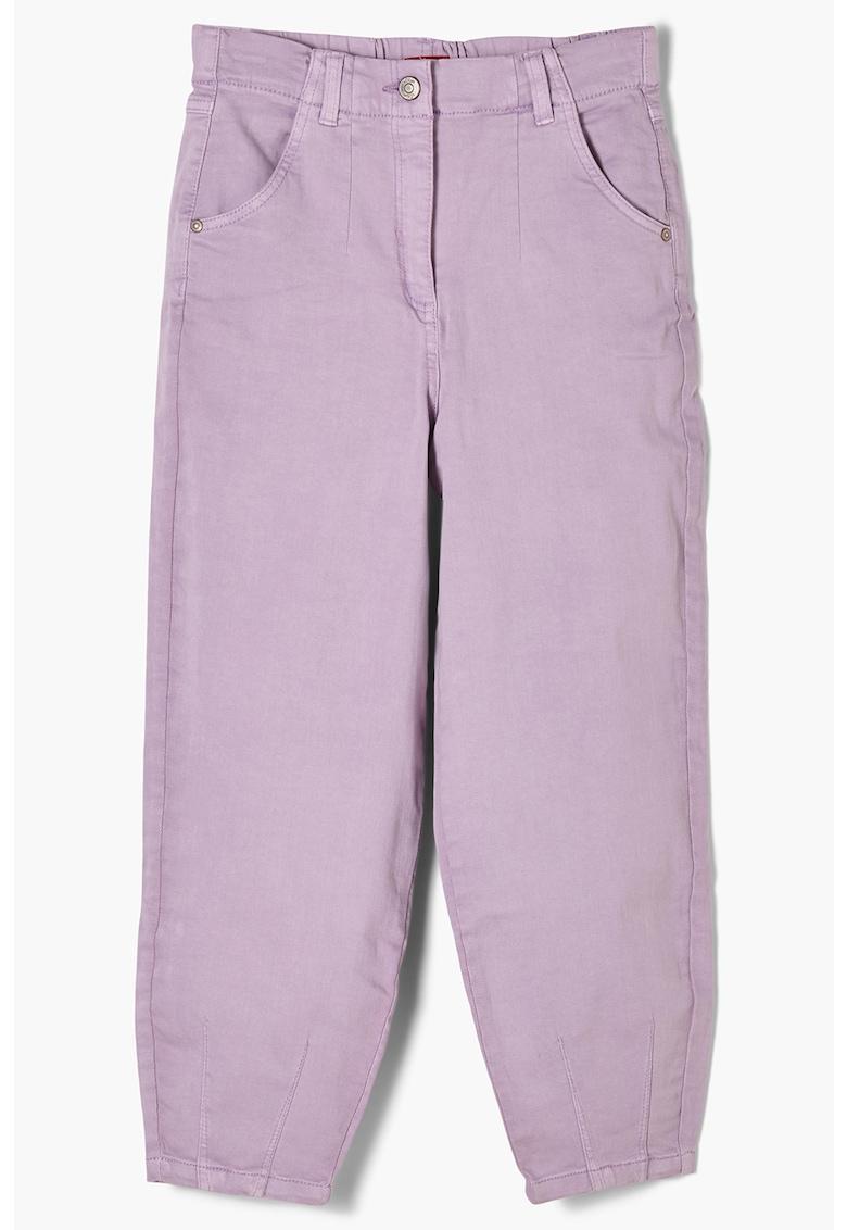 Pantaloni cu croiala conica s.Oliver fashiondays.ro