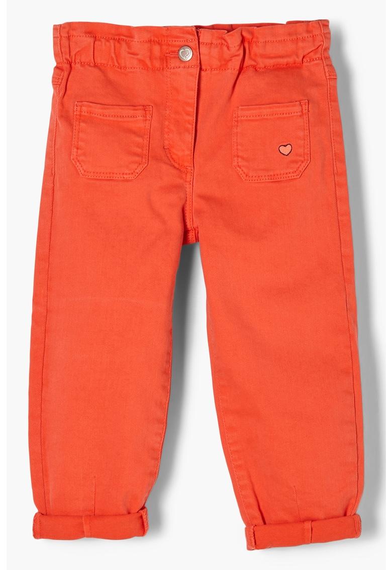 Pantaloni cu buzunare laterale s.Oliver fashiondays.ro