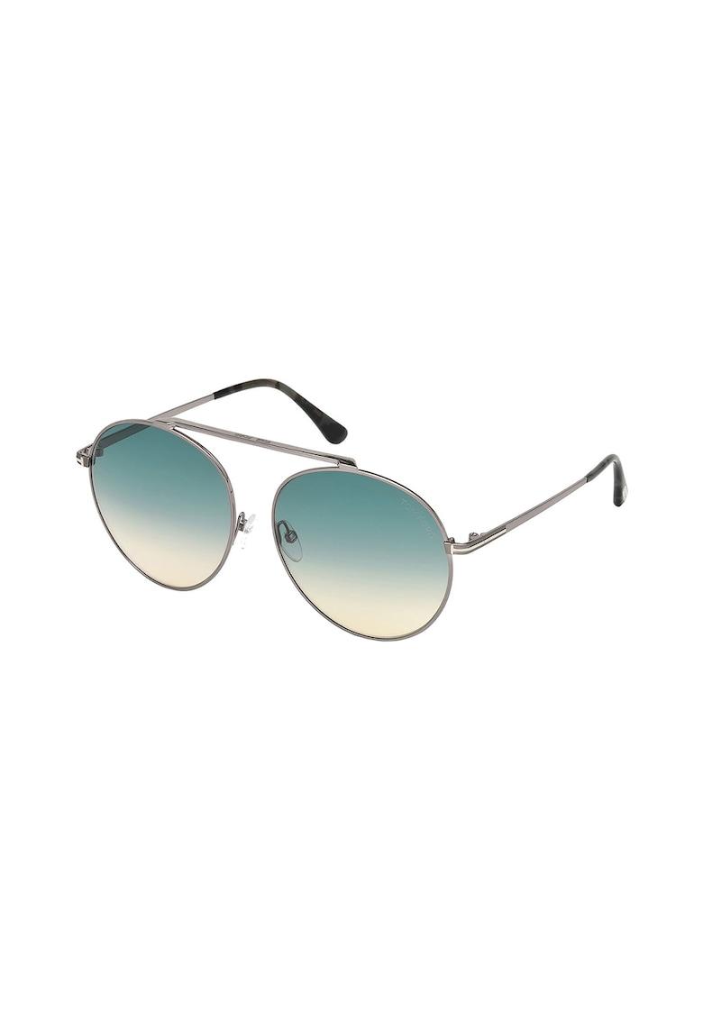 Ochelari de soare aviator cu lentile in degrade imagine fashiondays.ro Tom Ford