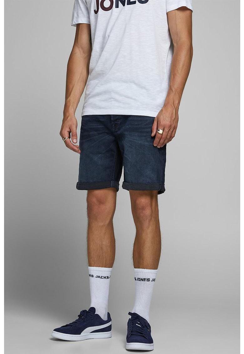 Pantaloni scurti regular fit din denim Rick Original
