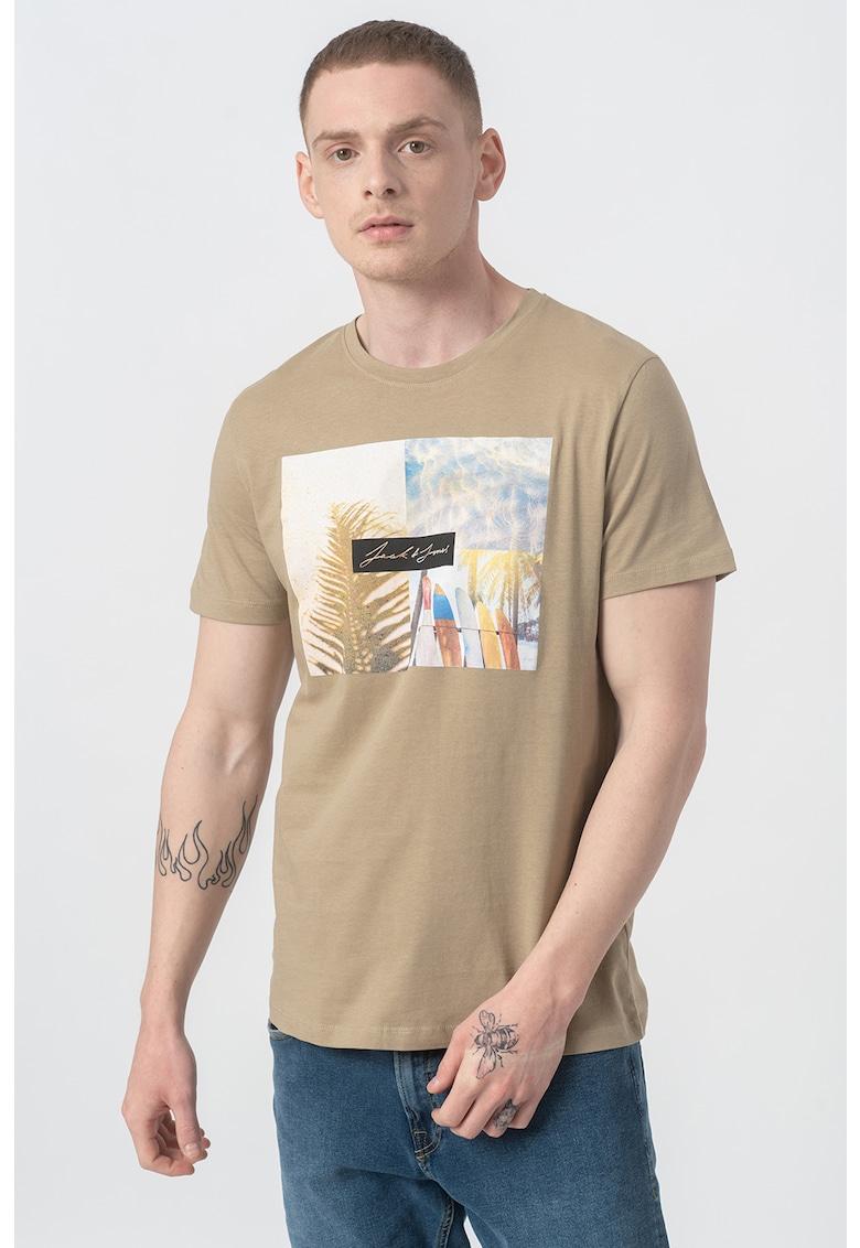Tricou cu imprimeu foto Summer imagine fashiondays.ro 2021