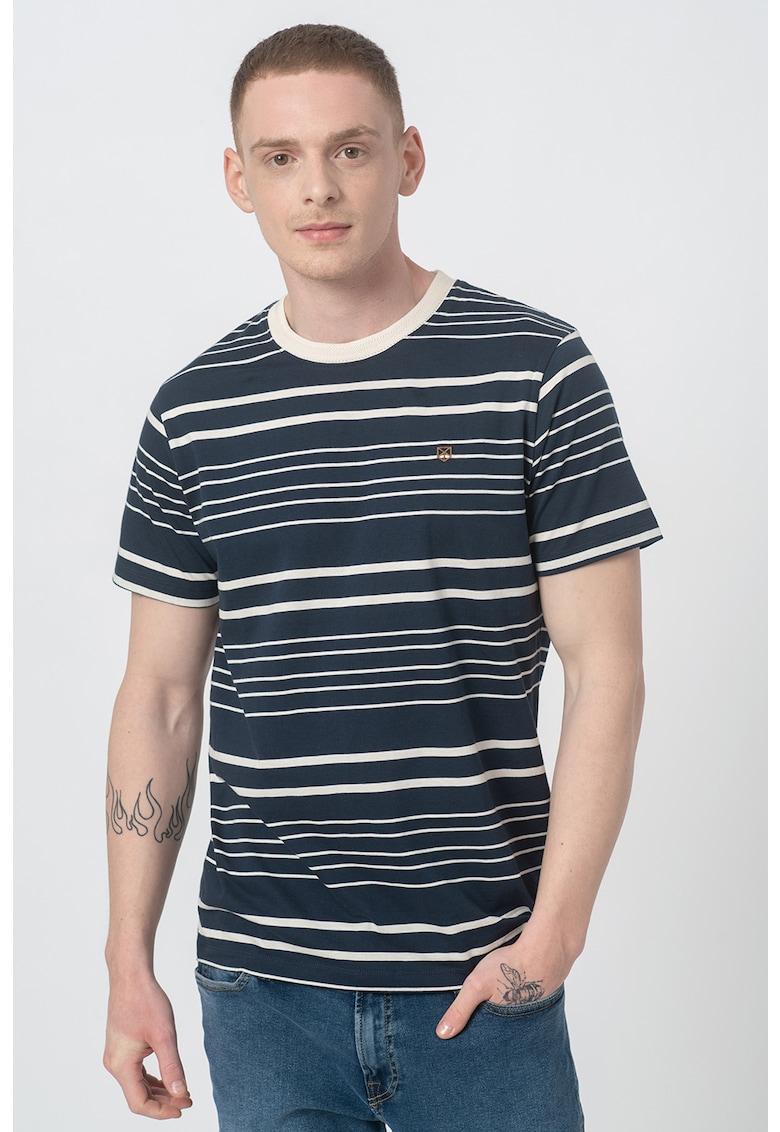 Tricou regular fit cu dungi Juri imagine fashiondays.ro 2021