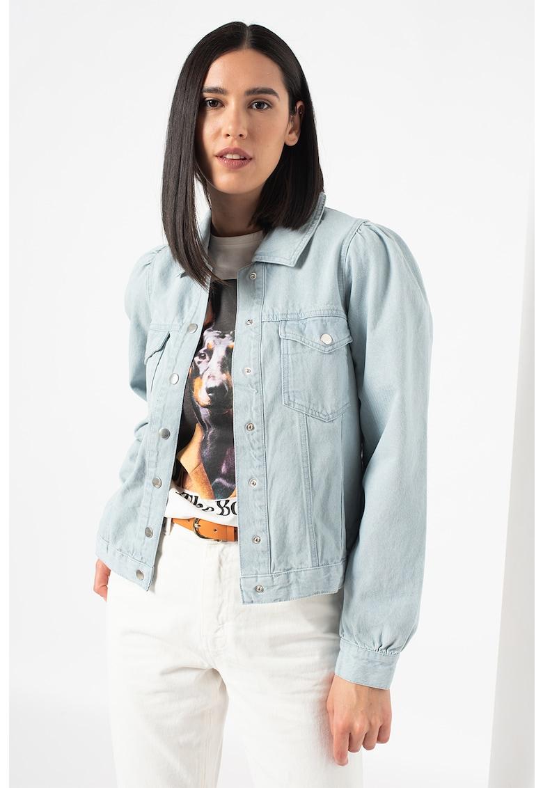 Jacheta din denim Daysa imagine fashiondays.ro 2021