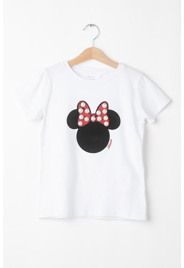 Tricou cu imprimeu cu Minnie Mouse imagine fashiondays.ro 2021