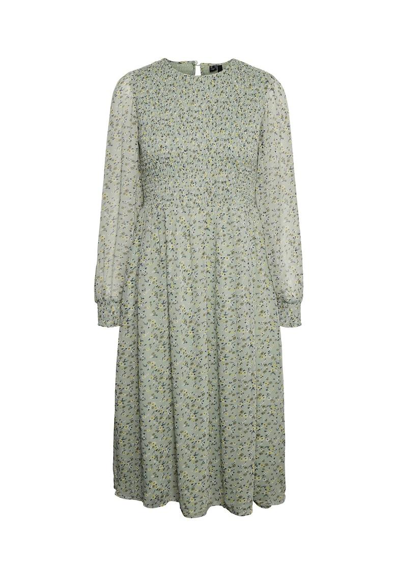 Rochie midi cu imprimeu floral Siffy de la Vero Moda