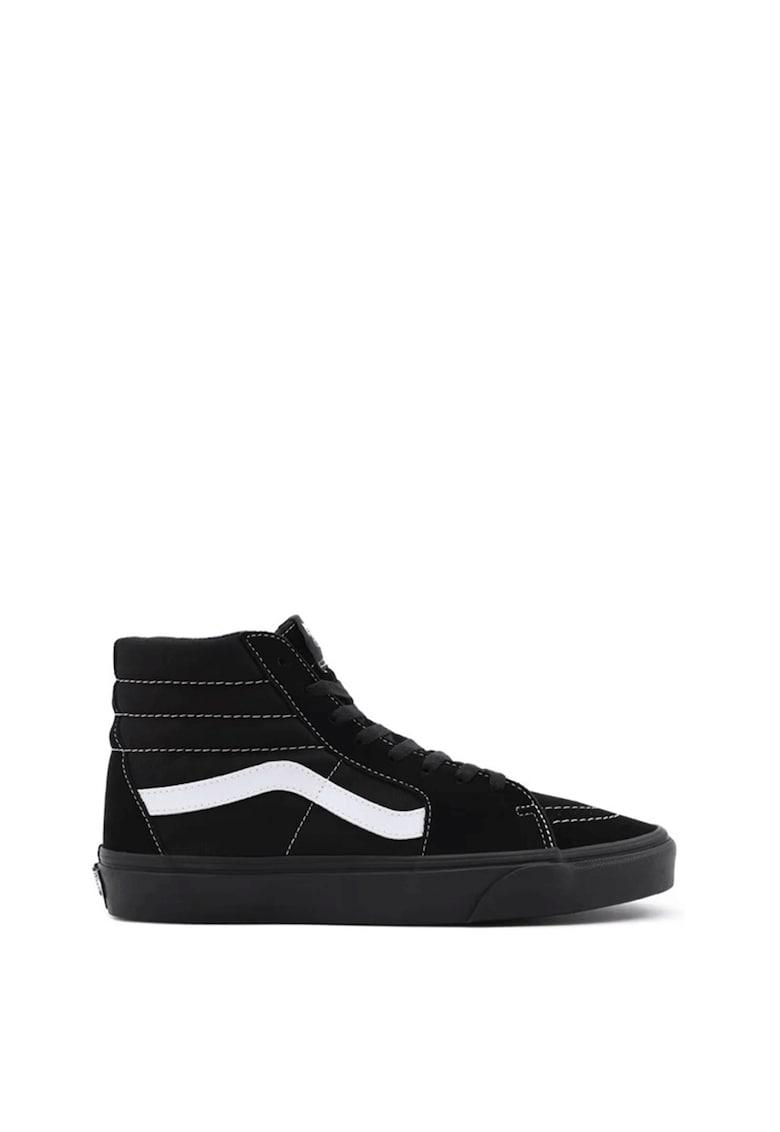 Pantofi sport inalti unisex din piele intoarsa SK8-Hi imagine fashiondays.ro Vans